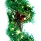 42'' Pre-lit Fern Spiral Tree Clear Lights Set of Two - 11474-027CLR - 6