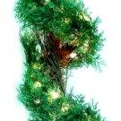 42'' Pre-lit Fern Spiral Tree Clear Lights Set of Two - 11474-027CLR - 6