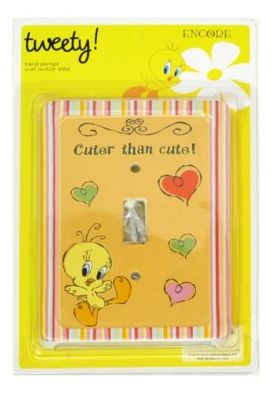 Looney Tunes Tweety Cheeky Switch Plate Cover - 616172 - 44