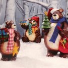 Large Holiday Bear Family 3pc Set - 246794 - 11
