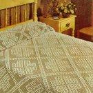 Candytuft Bedspread Crochet Pattern  C 1029