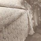 Peach Tree Street Bedspread Crochet Pattern C 1021