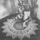 Pineapple Ruffled Doily Crochet Pattern C 1055