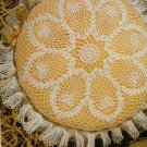 Ruffled Pineapple Pillow Cover Crochet Pattern C 1061