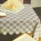 Governor's Lady Tablecloth Crochet Pattern  C 1031