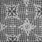 Medallion Tablecloth Crochet Pattern C 1034