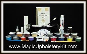 Magic Fabric Fix Mega Kit : Fix all your Home-Office-Auto-Boat Fabrics Easy!
