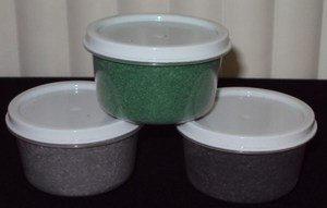 Magic Fibers (Green, Gray, Light Green) Set Of 3: