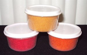 Magic Fibers (Red, Yellow, Orange) Set Of 3: