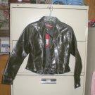 Juniors Faux Leather Waist Coat Jacket