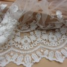 5yards embroidery Lace trim-white ribbon for sewing-LSENS005
