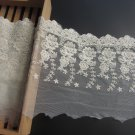 5yards embroidery Lace trim-white ribbon for sewing-LSENS038