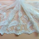 5yards embroidery Lace trim-white ribbon for sewing-LSENS044