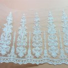 5yards embroidery Lace trim-white ribbon for sewing-LSENS045