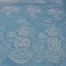 eyelash lace fabric,Chantilly Lace -3meters in 1pcs High quality-T003