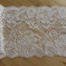 Stretch lace trim,5yards white lace,garter lace trimming-LSY025