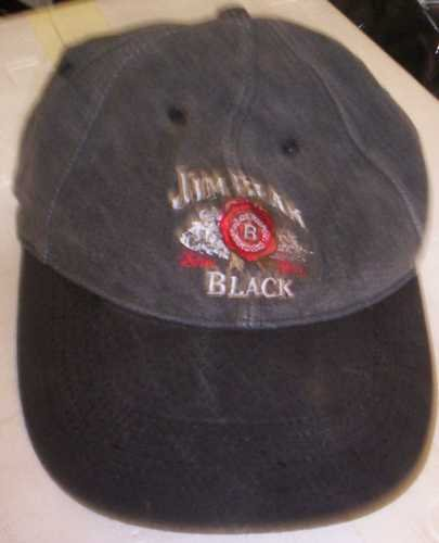 JIM BEAM CAP - black - good used cond