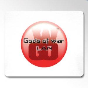 Gods Of War LAN Mousemat