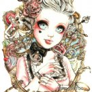 Doll Tattoo Large sexy Waterproof Colorful Temporary Tattoo Body Arm Art Sticker Removable