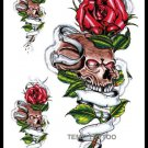 Rose Tattoo Large sexy Waterproof Colorful Temporary Tattoo Body Arm Art Sticker Removable