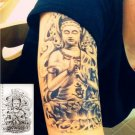 Buddha Lotus Waterproof Removable Temporary Tattoo Body Arm Art Sticker