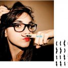 Mustache Sexy Waterproof Removable Temporary Tattoo Body Arm Art Sticker