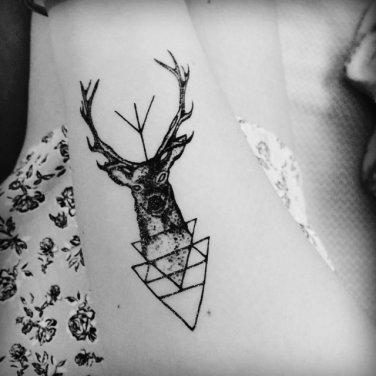 Buck Sexy Waterproof Removable Temporary Tattoo Body Arm Art Sticker
