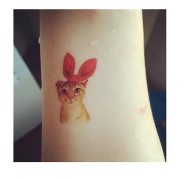 Kitty Bunny Sexy Waterproof Removable Temporary Tattoo Body Arm Art Sticker