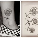 Sun Flower Waterproof Removable Temporary Tattoo Body Arm Art Sticker