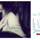 EIFFEL TOWER PARIS Waterproof Removable Temporary Tattoo Body Arm Art Sticker
