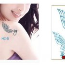 ANGEL WINGS Waterproof Removable Temporary Tattoo Body Arm Art Sticker