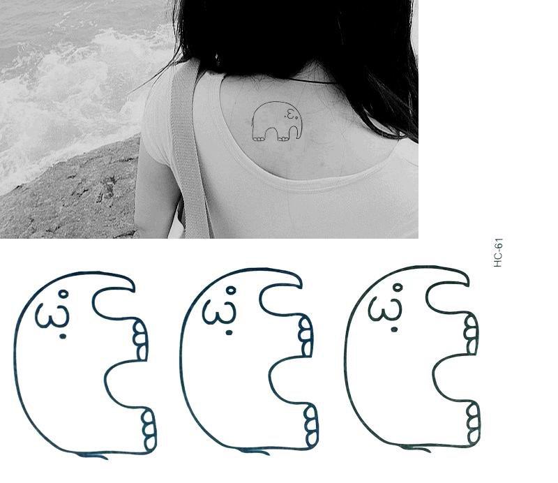 ELEPHANT Waterproof Removable Temporary Tattoo Body Arm Art Sticker