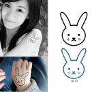 Bunny Waterproof Removable Temporary Tattoo Body Arm Art Sticker