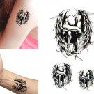 Sleeping Angel Wings Temporary Tattoo Body Arm Art Sticker