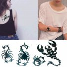 Scorpion Sexy Temporary Tattoo Body Arm Art Sticker