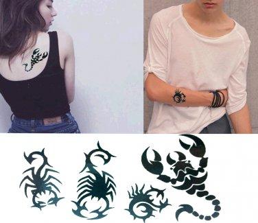 Scorpion Sexy Temporary Tattoo Body Arm Art Sticker