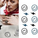 Big Bang Smiling Face Sexy Temporary Tattoo Body Arm Art Sticker