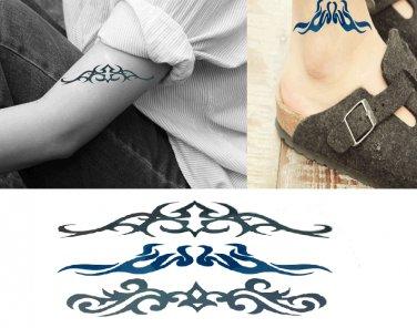 Tribe 2 Sexy Temporary Tattoo Body Arm Art Sticker