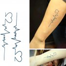 Heart Love Sexy Temporary Tattoo Body Arm Art Sticker