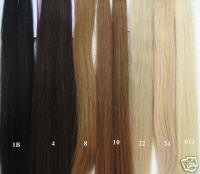 Remy Wefted Hair for Extensions
