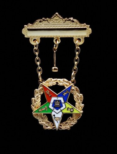 OES Order Eastern Star Past Worthy Matron Masonic Jewel