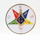 Order Of Eastern Star Past Patron Freemason Masonic Car Bumper Sticker BRAND NEW