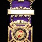 York Rite Knights Templar Past Grand Commander Jewel