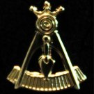 York Rite Past Illustrious Master Masonic Lapel Pin