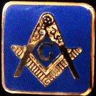 Blue Lodge Square & Compasses With Border Flat Masonic Freemason