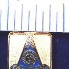 Blue Lodge Past Master Flat Masonic Freemason