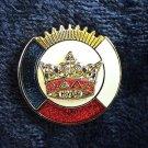 York Rite KYGCH Blue Lodge Chapter KT Masonic Lapel Pin