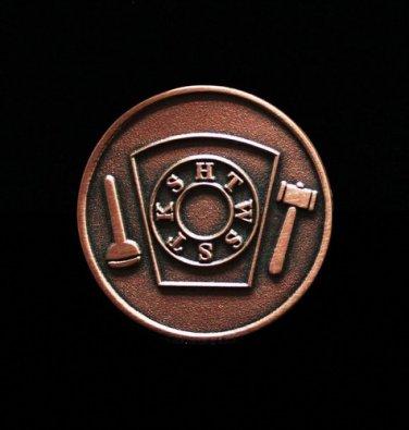 York Rite Royal Arch Freemason Masonic Penny Coin