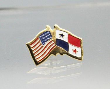 United States Panama Friendship Flag Lapel Pin