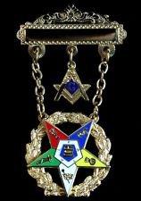 OES Order Eastern Star Past Worthy Patron Masonic Jewel